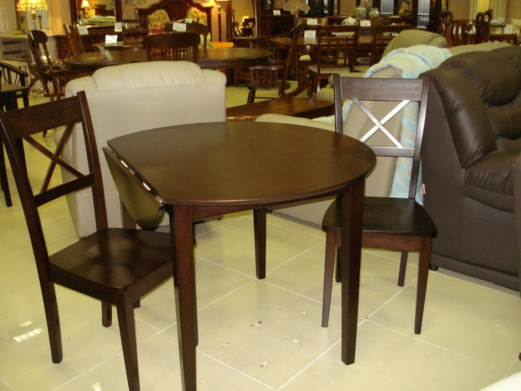 Фото - Круглый кухонный стол Монако