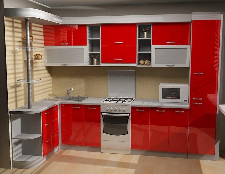 Кухня фото дизайн угловые с барной