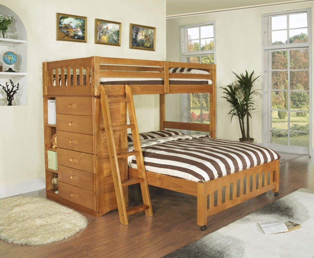 Фото - Двухъярусная кровать-чердак Аскольд
