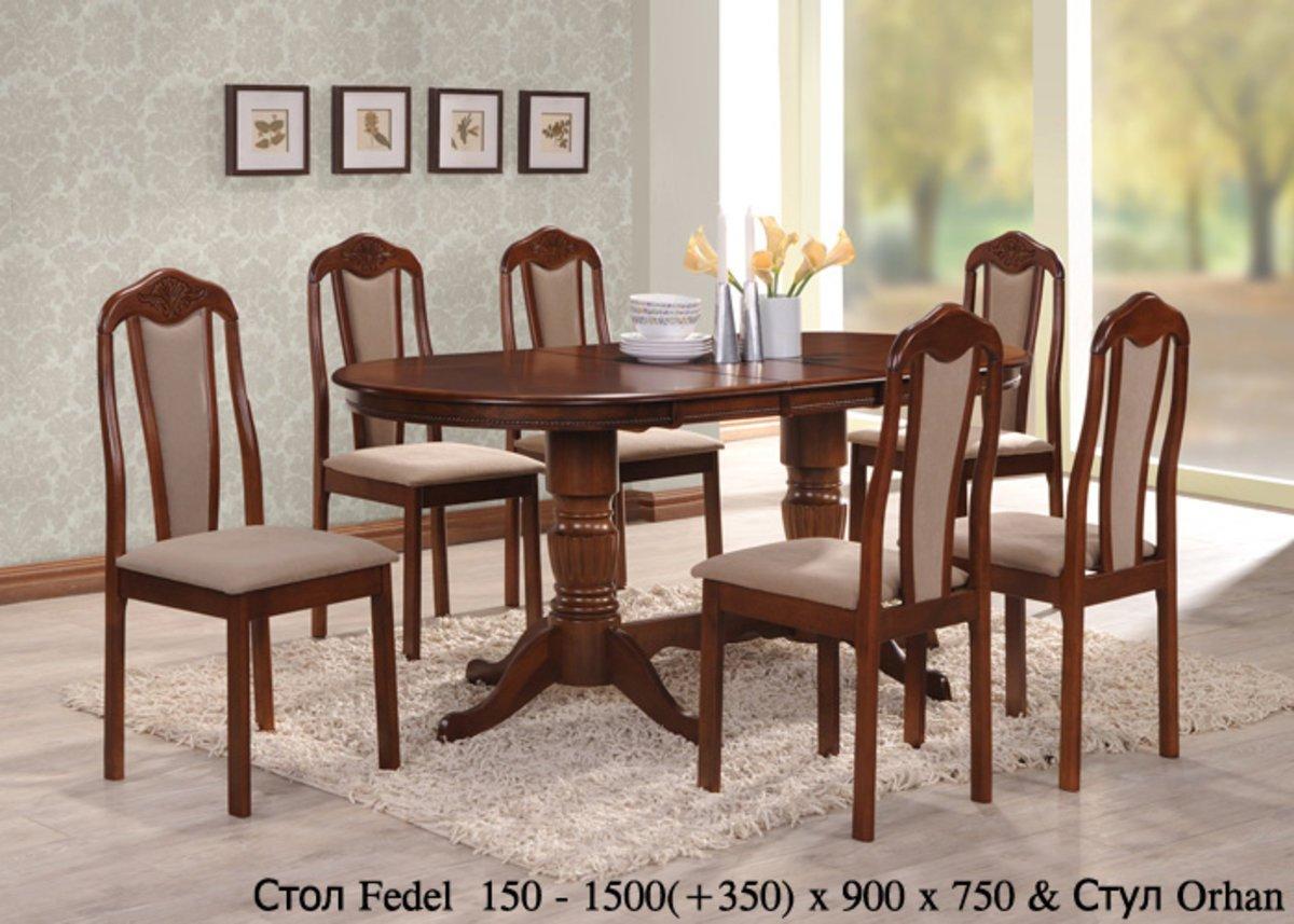 Фото - Стол Fedel и стулья Orhan