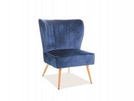 Кресло Legno Velvet