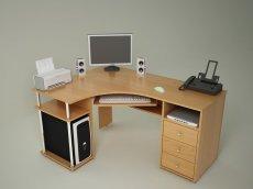 Компьютерный стол С820 - ольха