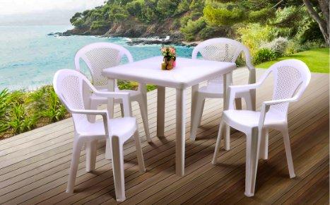 Фото - Комплект: стол Nettuno и стул Ischia