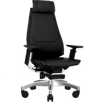 Фото - Кожаное компьютерное кресло GENIDIA LUX