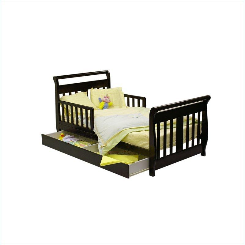 детская кроватка выкатная.