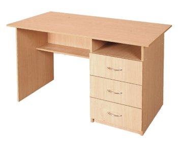 Фото - Стол письменный, с ящиками справа