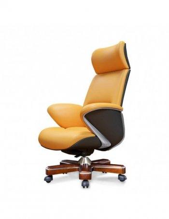 Фото - Кресло YS-1605A, для руководителя, кожаное