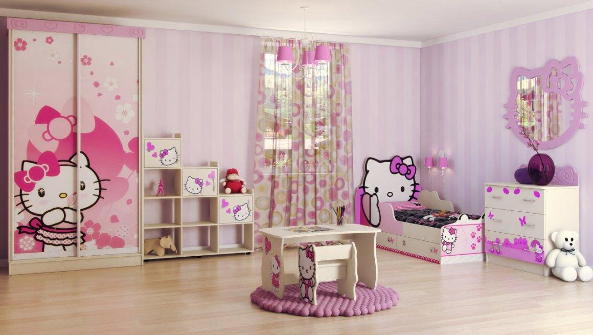 Детская комната Хелло Китти