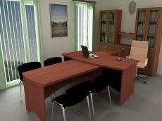 Фото - Офисный стол 2121
