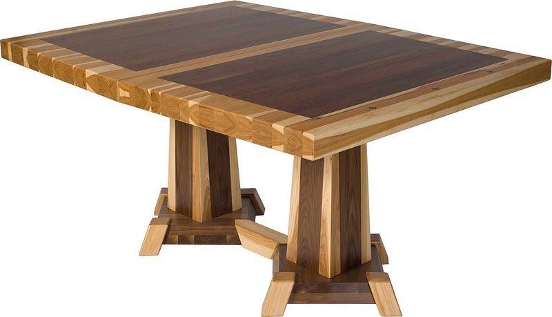 Столовый стол из дерева своими руками 64