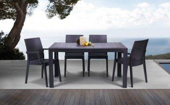 Фото - Комплект: стол Urano и стул Dafne