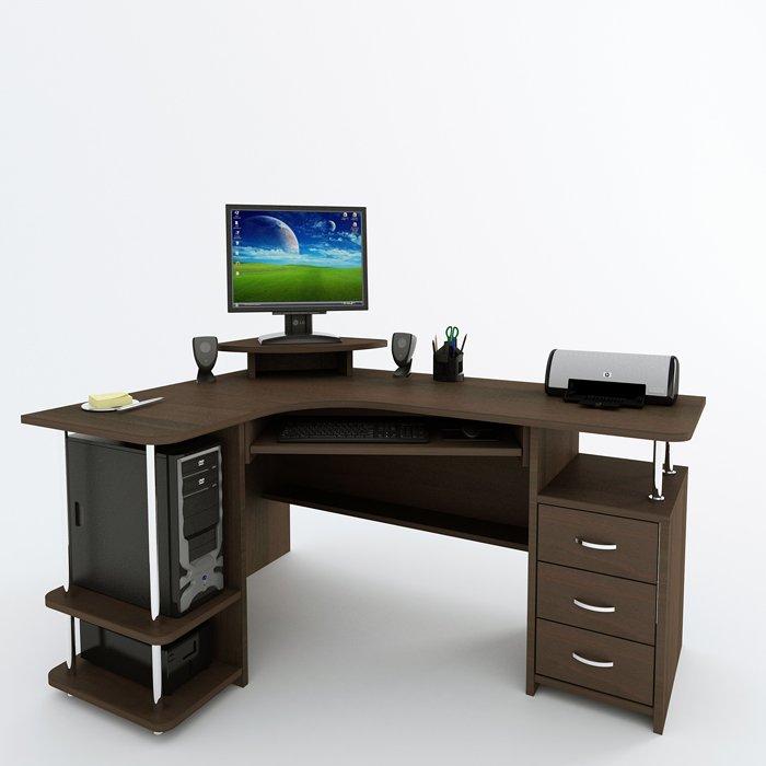 Фото - Угловой компьютерный стол С 224 БН