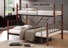 Фото - Кровать двухъярусная LARA