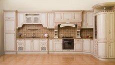 Фото - Lis-3 (Кухня №3, дуб, колір №1015 з мідною патиною)
