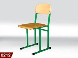 Стілець шкільний з полозами 0212