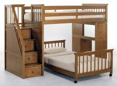 Фото - Двох'ярусне ліжко-горище Мирон