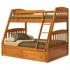 Фото - Двох'ярусне ліжко-трансформер Дакота