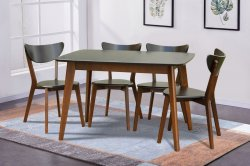 Кухонний стіл та стільці Модерн