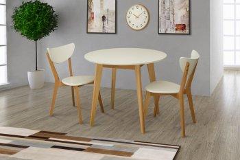 Фото - Круглий стіл та стільці Модерн