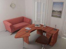 Фото - Офісний стіл керівника 122