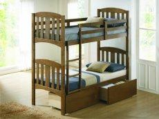 Фото - 2-х ярусне ліжко Мальвіна з ящиками