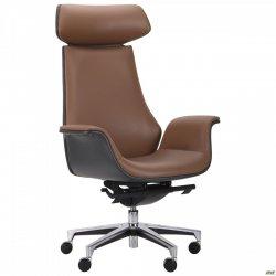 Крісло для керіника Bernard HB Brown/Dark Grey