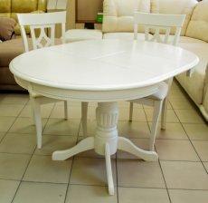 Фото - Круглий розкладний стіл DM-T4EX2