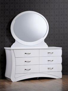Фото - Будуарний столик + дзеркало Евіта